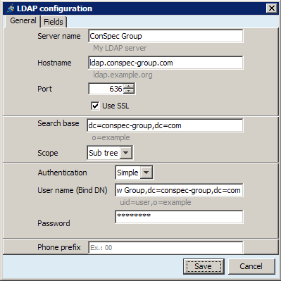 Setup LDAP Contacts in Jitsi - ConSpec Wiki